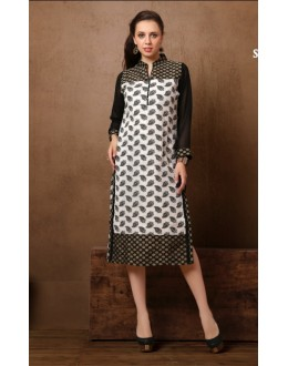 Office Wear Readymade Cotton Kurti - Darpan2051